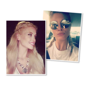 Winter Braids: 5 ελληνίδες celebrities σας δείχνουν πώς να πλέξετε τα μαλλιά σας φέτος το χειμώνα!