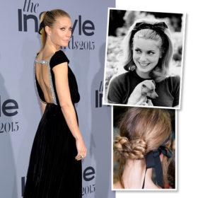 Put a Ribbon on It! Οι κορδέλες στα μαλλιά είναι η τάση που θα λατρέψετε την εορταστική σεζόν