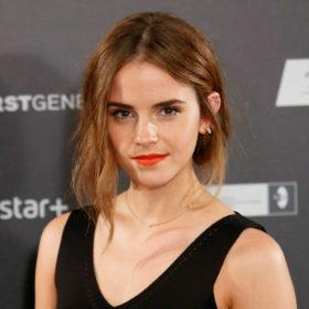 H Emma Watson έβαψε τα μαλλιά της και είναι αγνώριστη