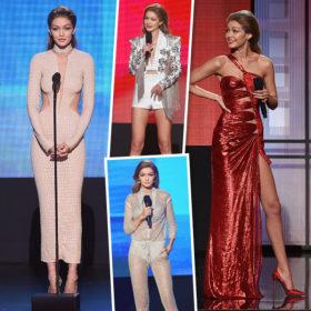 Μείναμε με στόμα ανοιχτό! Δείτε τι φόρεσε η Gigi Hadid ως παρουσιάστρια των βραβείων AMA' s