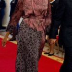 michelle obama, mosaic, look of the day, dries van noten