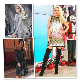 We love metallics! Οι ελληνίδες celebrities έχουν ήδη φορέσει τα πιο εορταστικά, μεταλλιζέ κομμάτια που θα λατρέψετε