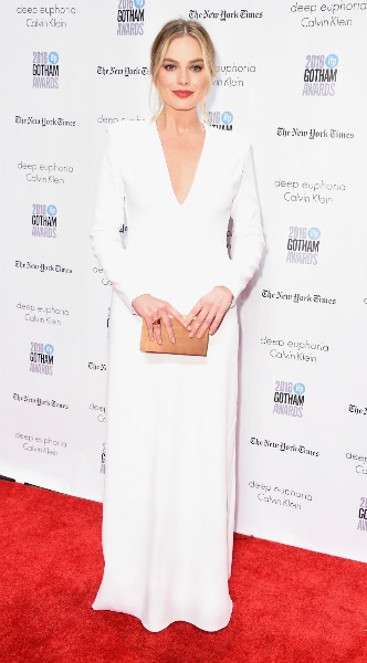 margot robbie, lefko forema, calvin klein, the 26th Annual Gotham Independent Film Awards, mosaic, look of the day