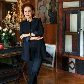 Λουκία: Δείτε το ιδιαίτερο σπίτι της σχεδιάστριας μόδας