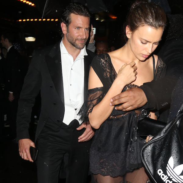 Bradley Cooper and Irina Shayk at the Up & Down Bash after the Met Gala in New York. Pictured: Bradley Cooper, Irina Shayk Ref: SPL1274656 030516 Picture by: Splash News Splash News and Pictures Los Angeles: 310-821-2666 New York: 212-619-2666 London: 870-934-2666 photodesk@splashnews.com