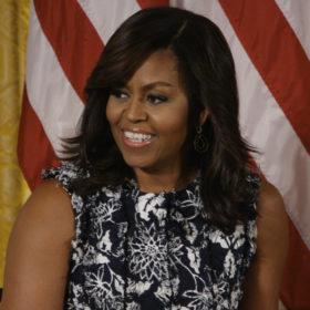 Η Michelle Obama σε ρόλο μοντέλου!