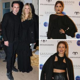 Δείτε τι φόρεσαν οι celebrities στο fashion show του Stelios Koudounaris