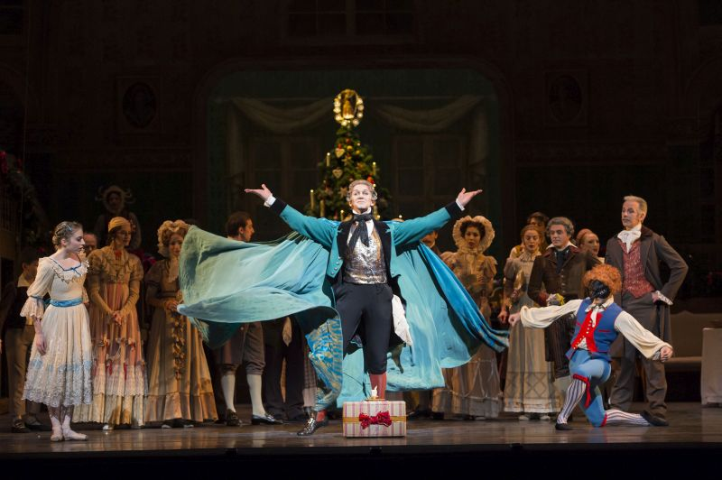 NUTCRACKER;The Royal Ballet,Drosselmeyer; GARY AVIS,Clara; MEAGHAN GRACE HINKIS,The Sugar Plum Fairy; ROBERA MARQUEZ,The Prince; STEVEN McRAE,  NUTCRACKER;The Royal Ballet,Drosselmeyer; GARY AVIS,Clara; MEAGHAN GRACE HINKIS,The Sugar Plum Fai