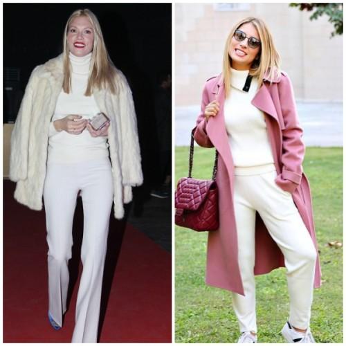 a6e0ea24c8f2 Winter whites: Φορέστε το λευκό όπως οι αγαπημένες ελληνίδες celebrities
