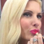 eleni menegaki, pink lips, fouxia kragion
