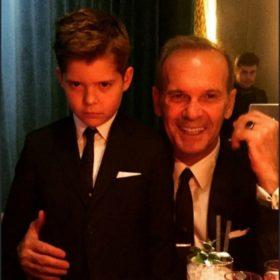How sweet: Δείτε τις πιο γλυκές φωτογραφίες του Πέτρου Κωστόπουλου με τον γιο του