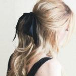 hair-bow, ribbon