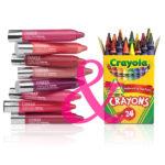 crayola, clinique