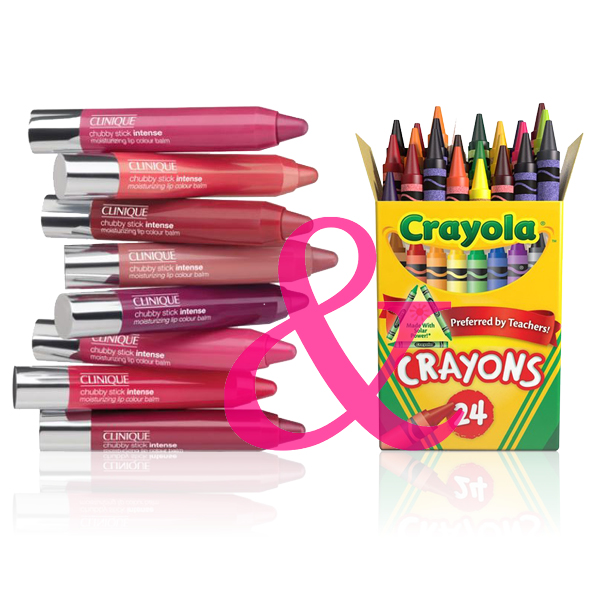 crayola, clinique