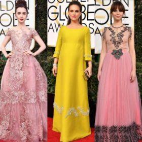 2017 Golden Globe Awards: Δείτε όλες τις εμφανίσεις από το κόκκινο χαλί