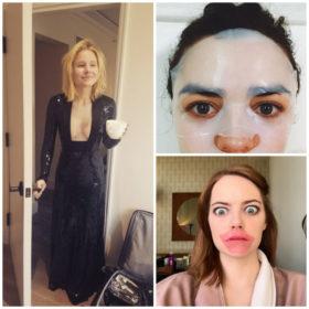 Golden Globes Beauty: Βρήκαμε τις πιο fun φωτογραφίες από την προετοιμασία των stars