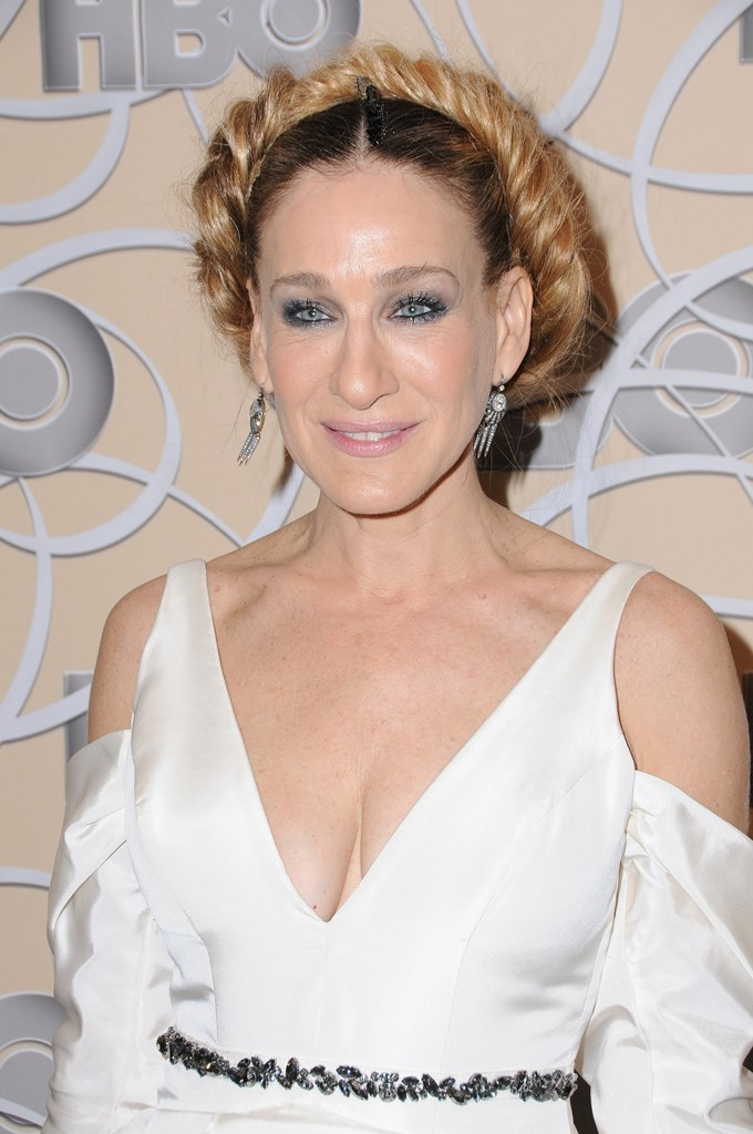 Arrivals at HBO's Official Golden Globe Awards After Party, held at the Beverly Hilton Hotel in Beverly Hills, CA. <P> Pictured: Sarah Jessica Parker <B>Ref: SPL1418952  080117  </B><BR /> Picture by: AdMedia / Splash News<BR /> </P><P> <B>Splash News and Pictures</B><BR /> Los Angeles:	310-821-2666<BR /> New York:	212-619-2666<BR /> London:	870-934-2666<BR /> photodesk@splashnews.com<BR /> </P>