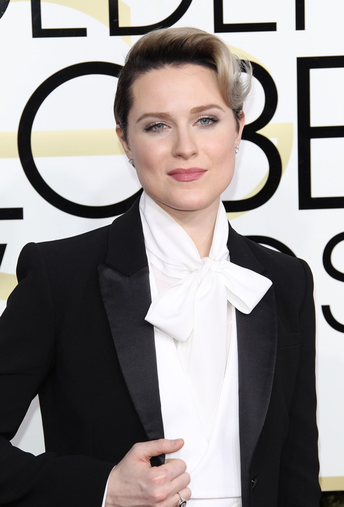 74th Annual Golden Globe Awards - Arrivals <P> Pictured: Evan Rachel Wood <B>Ref: SPL1418976  080117  </B><BR /> Picture by: Jen Lowery / Splash News<BR /> </P><P> <B>Splash News and Pictures</B><BR /> Los Angeles:	310-821-2666<BR /> New York:	212-619-2666<BR /> London:	870-934-2666<BR /> photodesk@splashnews.com<BR /> </P>
