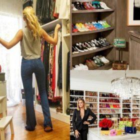 Από την Κατερίνα Καινούργιου έως την Khloé Kardashian: Αυτές είναι οι ντουλάπες- δωμάτια των stars