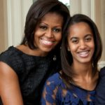 michelle, malia obama, homepage image