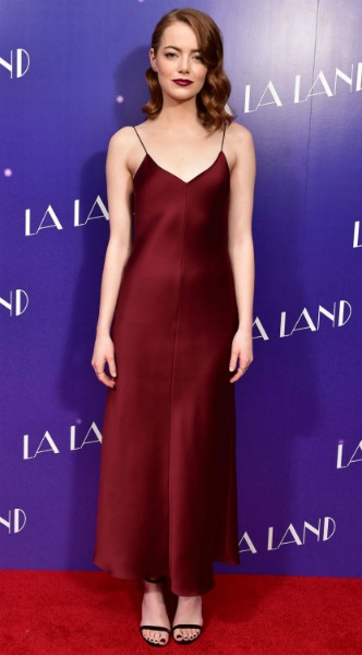 emma stone, mosaic, look of the day, The Row