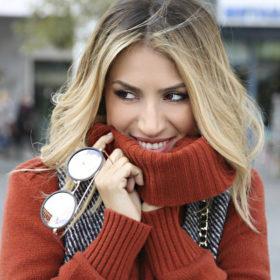 Θέλουμε ΤΩΡΑ το δερμάτινο jacket της Μαρίας Ηλιάκη