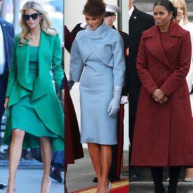 Ορκωμοσία Donald Trump: Το στιλ των γυναικών και ποια κυρία σχολιάστηκε περισσότερο