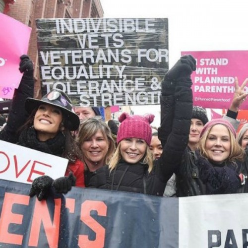 womens marches, homepage image