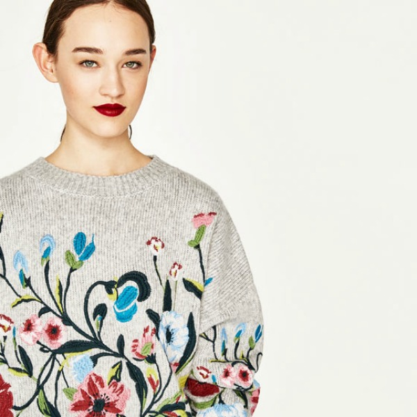 zara, poulover, new collection, homepage image