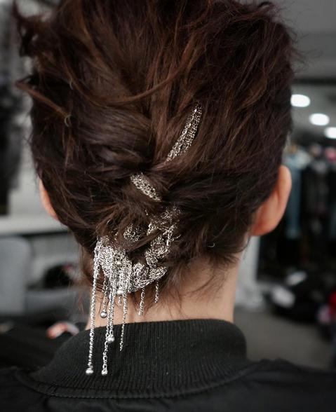 braid metal chains