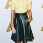 Ruth Negga wearing Miu Miu arrives at the 89th Annual Academy Awards Nominee Luncheon at The Beverly Hilton Hotel on February 6, 2017 in Beverly Hills, California. Pictured: Ruth Negga Ref: SPL1436387 060217 Picture by: Splash News Splash News and Pictures Los Angeles: 310-821-2666 New York: 212-619-2666 London: 870-934-2666 photodesk@splashnews.com