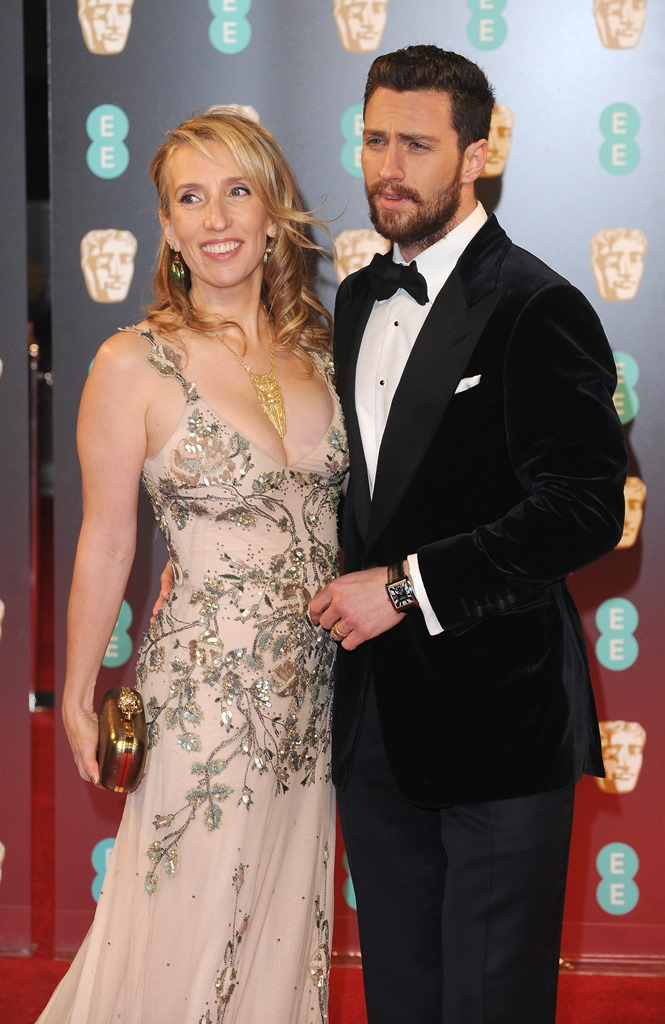 The 70th EE British Academy Film Awards (BAFTA) at Royal Albert Hall in London. <P> Pictured: Sam Taylor-Johnson and Aaron Taylor-Johnson <B>Ref: SPL1441744  120217  </B><BR /> Picture by: James Higgins / Splash News<BR /> </P><P> <B>Splash News and Pictures</B><BR /> Los Angeles:	310-821-2666<BR /> New York:	212-619-2666<BR /> London:	870-934-2666<BR /> photodesk@splashnews.com<BR /> </P>