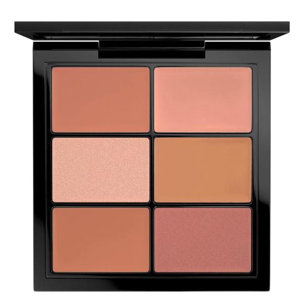 M·A·C Pro Lip Palette Necessary Nudes