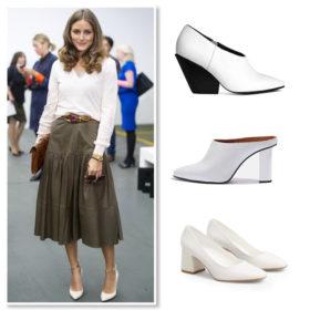 Shop it! Τα λευκά παπούτσια δεν είναι πια fashion faux pas