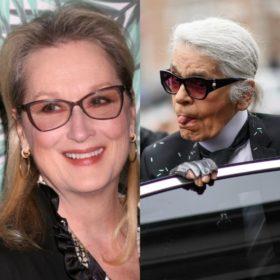 Η Meryl Streep λέει ότι ο Karl Lagerfeld είπε ψέματα και πως περιμένει ακόμα μια συγγνώμη