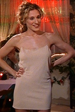 carrie bradshaw naked dress