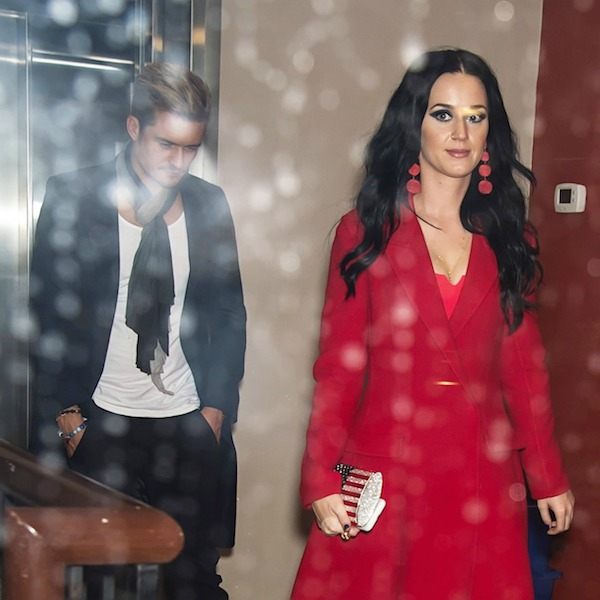 Katy Perry and Orlando Bloom are seen leaving Vedge restaurant after her performance at Get Out The Vote concert in support of Hillary Clinton in Philadelphia, PA. <P> Pictured: Katy Perry and Orlando Bloom <B>Ref: SPL1388018  051116  </B><BR /> Picture by: Ouzounova/Splash News<BR /> </P><P> <B>Splash News and Pictures</B><BR /> Los Angeles:	310-821-2666<BR /> New York:	212-619-2666<BR /> London:	870-934-2666<BR /> photodesk@splashnews.com<BR /> </P>