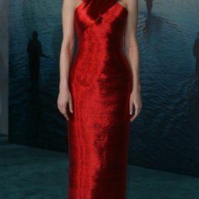 H Brie Larson με Oscar de la Renta