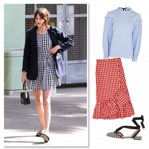 gingham homepage image