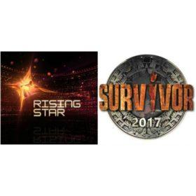 Survivor vs. Rising Star: Τα νούμερα τηλεθέασης και ποιος βγήκε νικητής