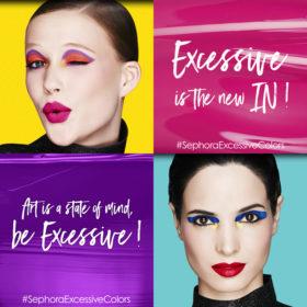 #Excessive: Τη νέα σεζόν τολμήστε τα έντονα χρώματα στο μακιγιάζ σας