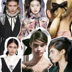 Οι κορδέλες και οι φιόγκοι στα μαλλιά είναι très chic στις πασαρέλες, όμως πώς μεταφέρονται στην πραγματική ζωή;