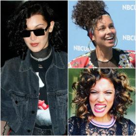 Curly hair, don't care: Δείτε τις celebrities που έχουν υιοθετήσει την τάση των πολύ σγουρών μαλλιών