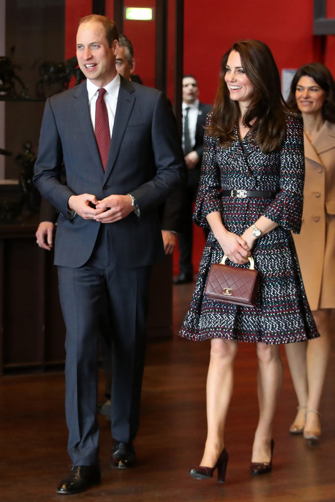 kate middleton chanel paris