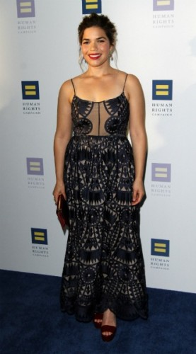 america ferrera, mosaic, look of the day