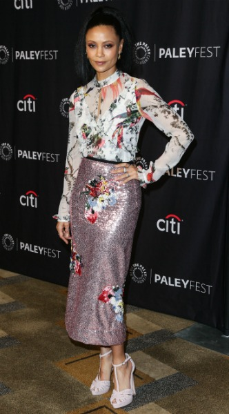 thandie newton, mosaic, look of the day