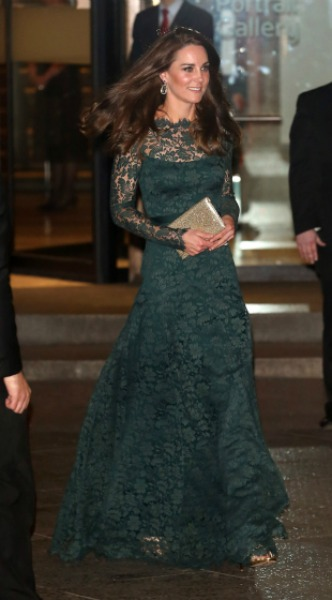 kate middleton, mosaic, look of the day
