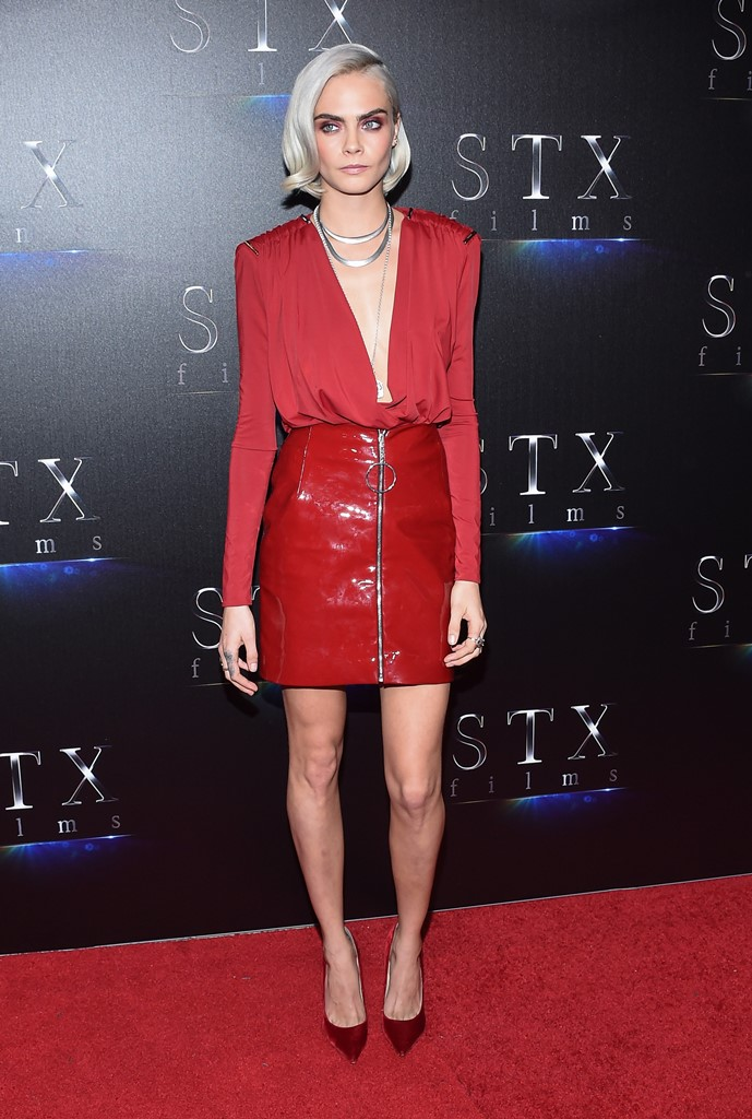 Luc Besson arrives for the STX Films ''The State of the Industry: Past, Present and Future'' Presentation at tCaesars Palace. <P> Pictured: Cara Delevingne <B>Ref: SPL1469827  280317  </B><BR /> Picture by: Lisa O'Connor / ZUMA Press / Splash News<BR /> </P><P> <B>Splash News and Pictures</B><BR /> Los Angeles:310-821-2666<BR /> New York:212-619-2666<BR /> London:870-934-2666<BR /> photodesk@splashnews.com<BR /> </P>