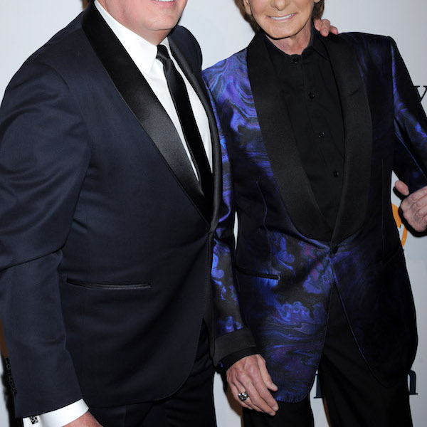 NO JUST JARED USAGE Pre-GRAMMY Gala & Salute to IndustryIcons with Clive Davis Pictured: Garry Kief and Barry Manilow Ref: SPL1228323 150216 Picture by: Splash News Splash News and Pictures Los Angeles: 310-821-2666 New York: 212-619-2666 London: 870-934-2666 photodesk@splashnews.com
