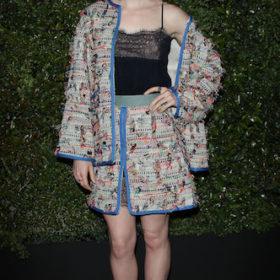 Η Lily Collins με Chanel